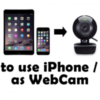 How to Use iPhone As a Webcam for PC or MAC – Top 5 Methods