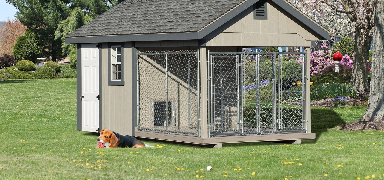 Provide Residential and Commercial Dog Kennels / Doghouses