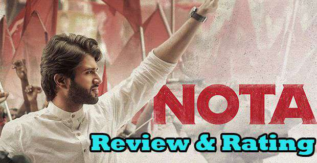 NOTA Movie Review And Rating And First Day Collections