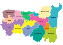 Kurnool Dirstrict Map