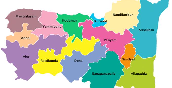 Kurnool Dirstrict Map
