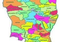 Nellore District Map