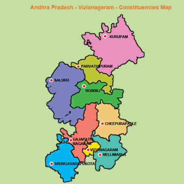 Andhra Pradesh Assembly Elections 2019, Vizianagaram MLA Candidates – TDP, YSRCP, Janasena (JSP), BJP, Congress