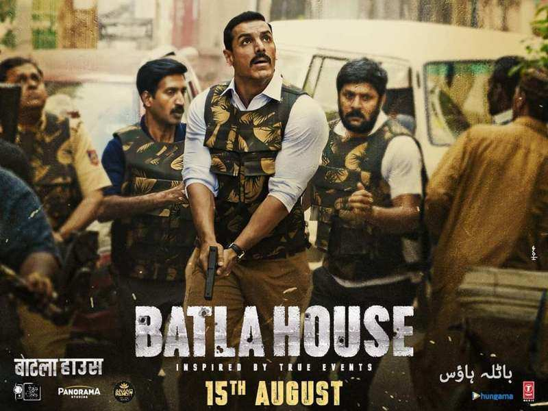 John Abraham's Latest Movie Batla House Leaked by Filmyzilla, Tamilrockers, Filmyhit Online in HD & FHD