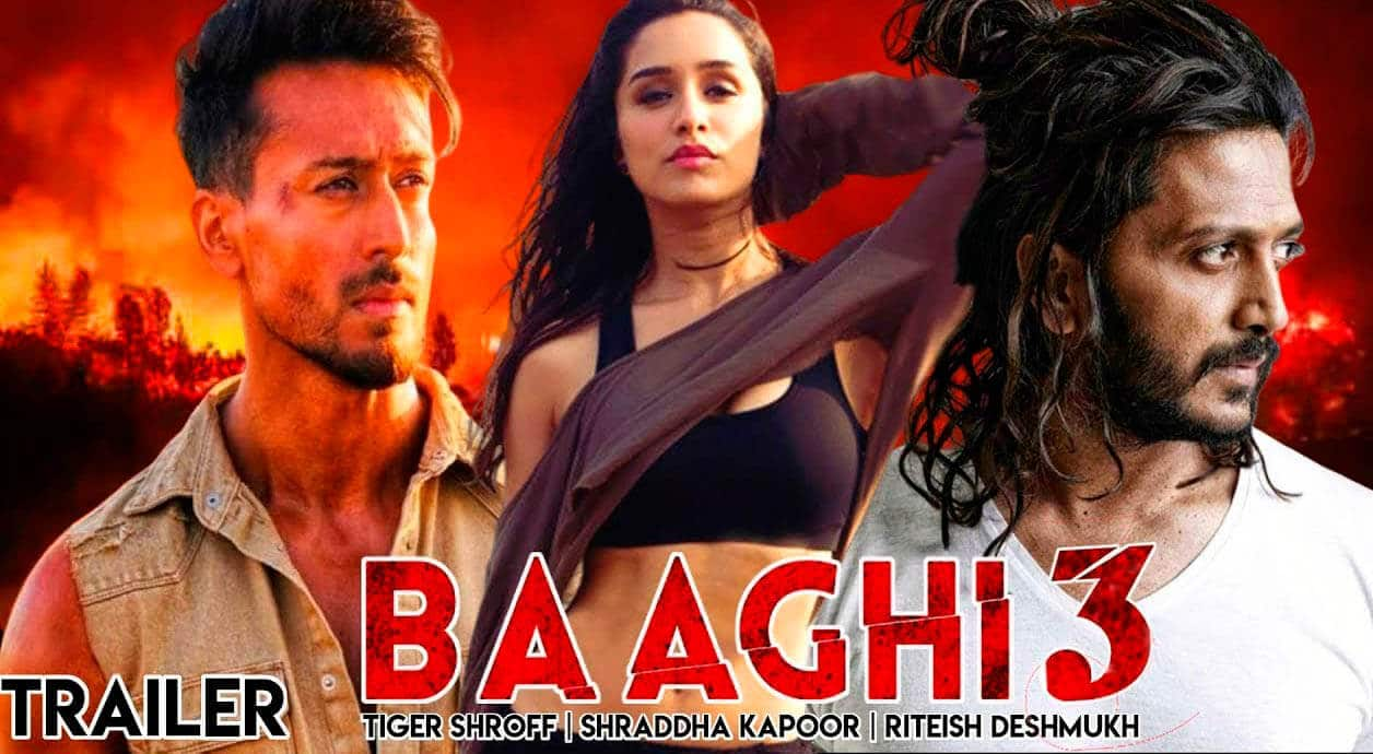 Tiger Shroff Bollywood Film Baaghi 3 Leaked Online By Piracy Website Tamilrockers
