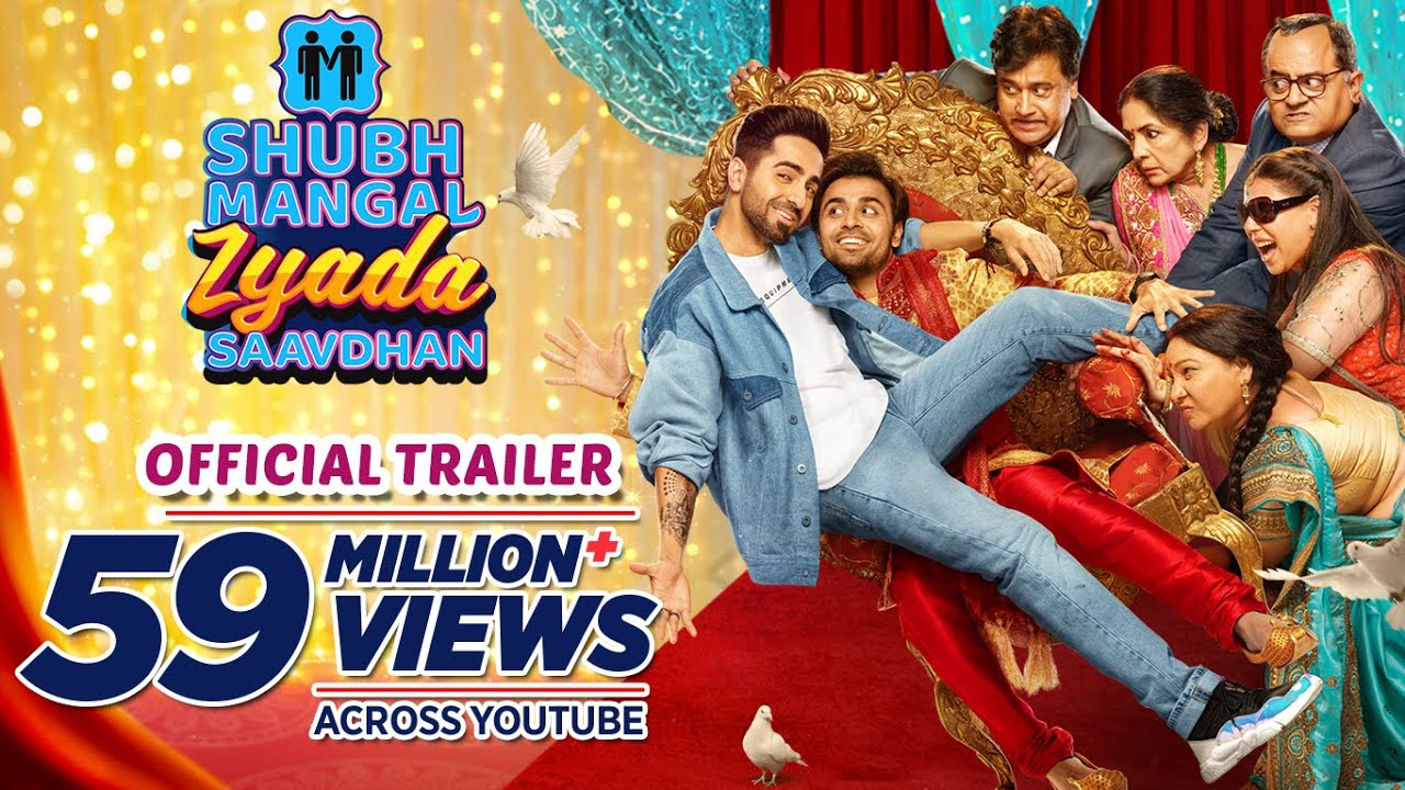 Filmywap strikes again – Ayushmann Khurrana's latest movie Shubh Mangal Zyada Saavdhan Leaked by Filmywap Online in HD & FHD
