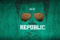 Sai Dharam Tej's Republic Movie First Look Poster and Teaser Information
